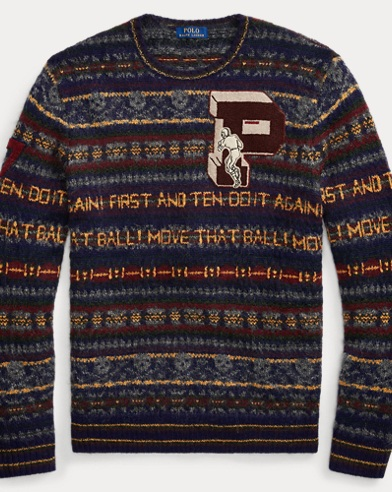 Fair Isle Wool-Blend Jumper