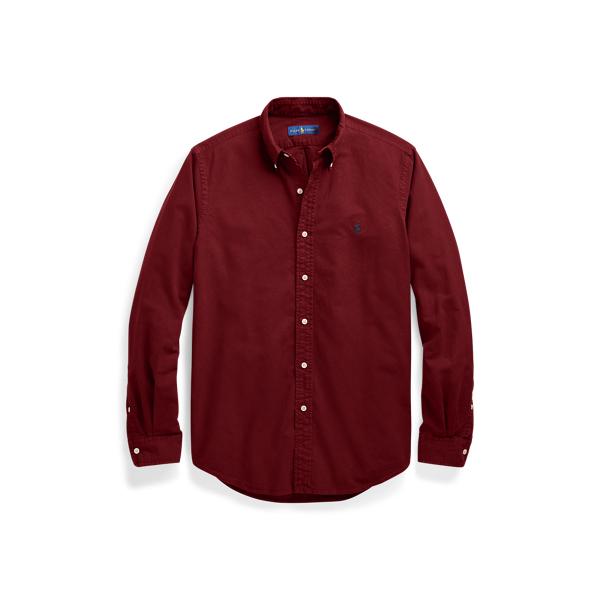 Ralph Lauren Classic Fit Oxford Shirt Classic Wine 1X Big