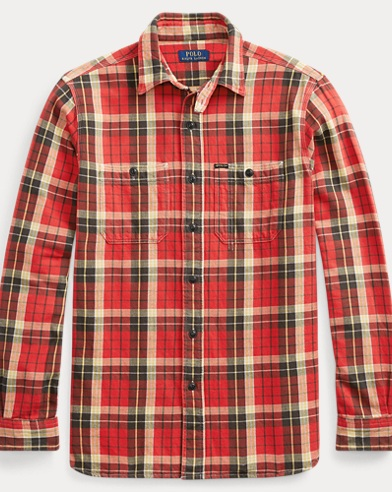 Classic Fit Plaid Workshirt