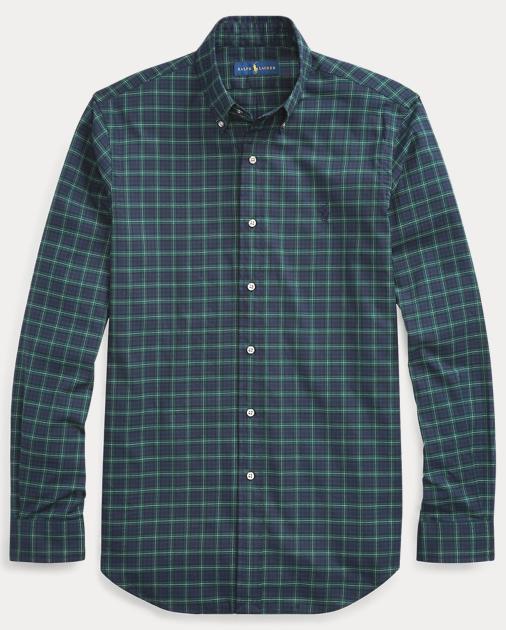 f8d83e44f99e Classic Fit Plaid Twill Shirt