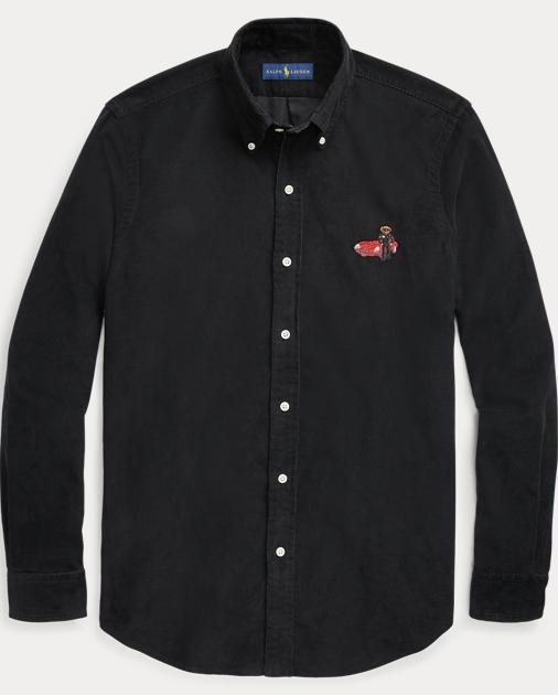 9ab632b1ae7a Big   Tall Classic Fit Polo Bear Shirt 1