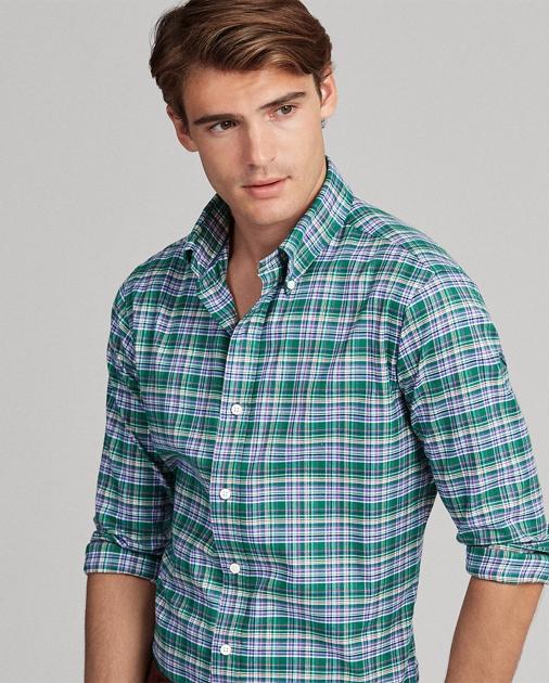 bdb970ff89e1 Polo Ralph Lauren Classic Fit Plaid Twill Shirt 1