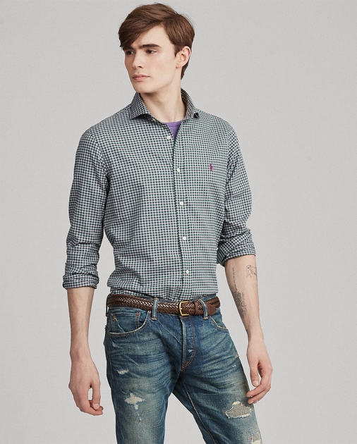 221e860a Polo Ralph Lauren Classic Fit Plaid Twill Shirt 1