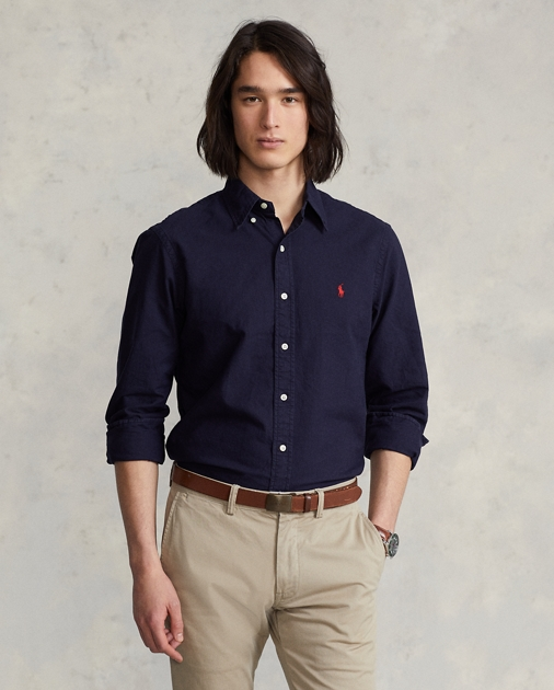 Polo Ralph Lauren Garment-Dyed Oxford Shirt - All Fits 1