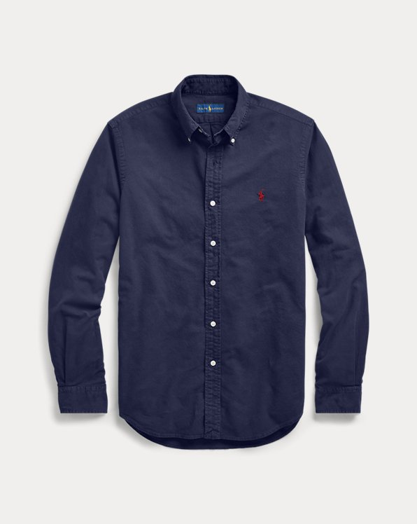 Garment-Dyed Oxford Shirt - All Fits