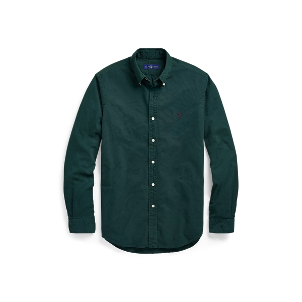 Ralph Lauren Classic Fit Oxford Shirt College Green S