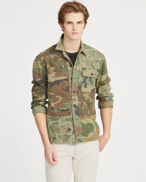 84750a39e Polo Ralph Lauren Classic Fit Camo Twill Shirt 1