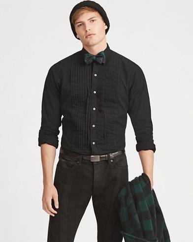 Classic Fit Tuxedo Shirt