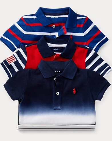 Polo Shortall 3-Piece Gift Set