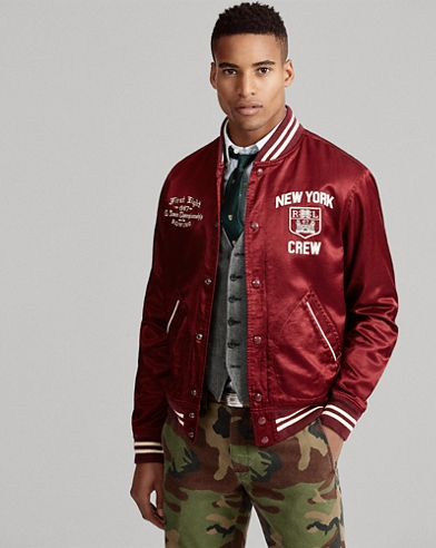 Sateen Baseball Jacket