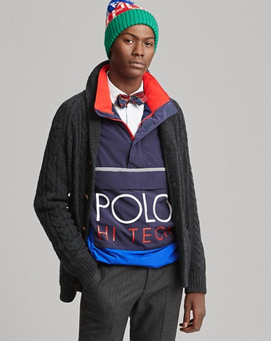 Hi Tech Colour-Blocked Pullover
