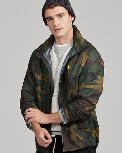 Camo Waterproof Jacket