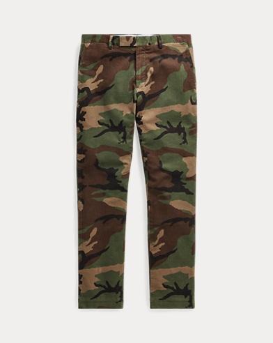 Slim Fit Stretch Corduroy Trousers