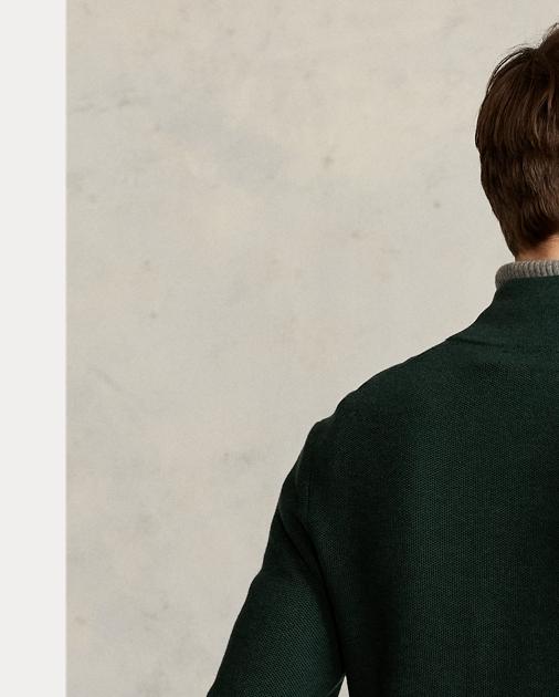 Half Sweater Cotton Zip Zip Cotton Half 0wPX8Okn