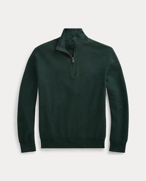 Sweater Zip Cotton Sweater Half Half Cotton Zip Zip Cotton Half WDEH92I
