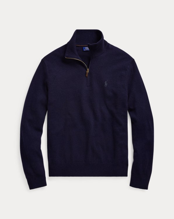 Merino Quarter-Zip Sweater