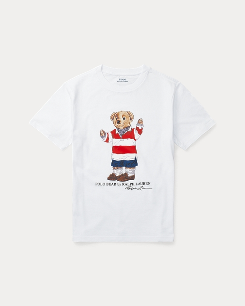 c6525de0 BOYS 6-14 YEARS Rugby Bear Cotton T-Shirt 1