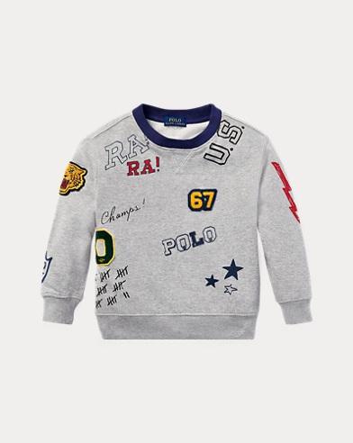 Grafik-Sweatshirt aus Baumwolle