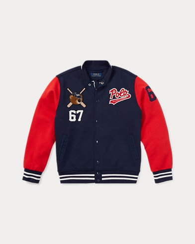 Veste de baseball Polo Bear