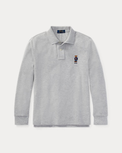 Polo Bear Cotton Mesh Polo