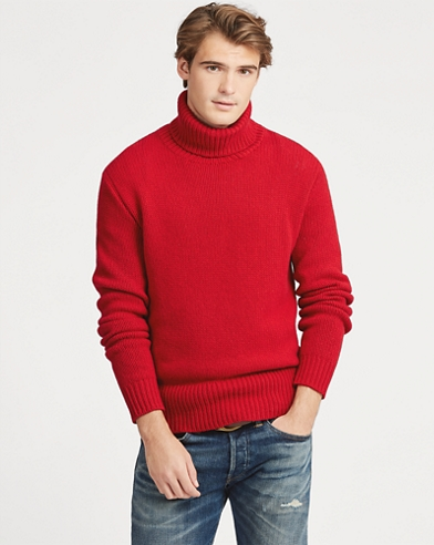 Wool Turtleneck Jumper