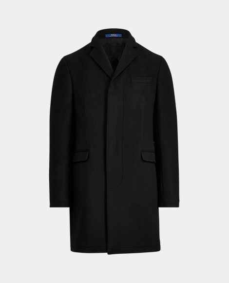 Morgan Wool-Blend Topcoat