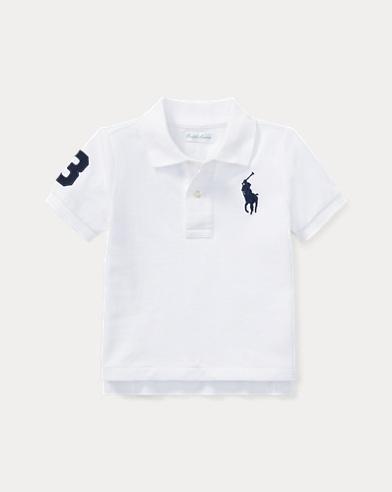 35e52d1d0 Camisetas polo para bebés niños de Ralph Lauren - Camiseta polo con ...