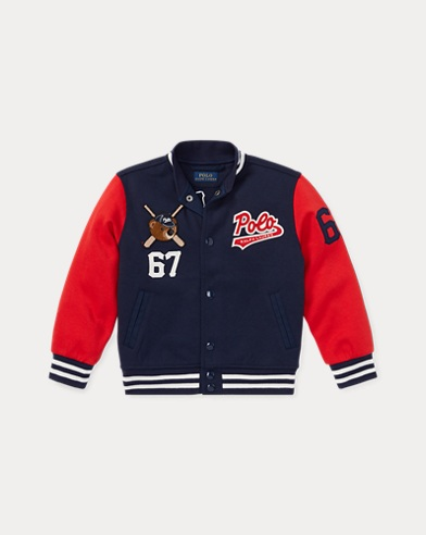 Polo Bear Baseball Jacket