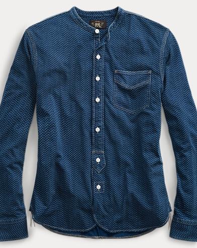 Indigo Cotton Workshirt