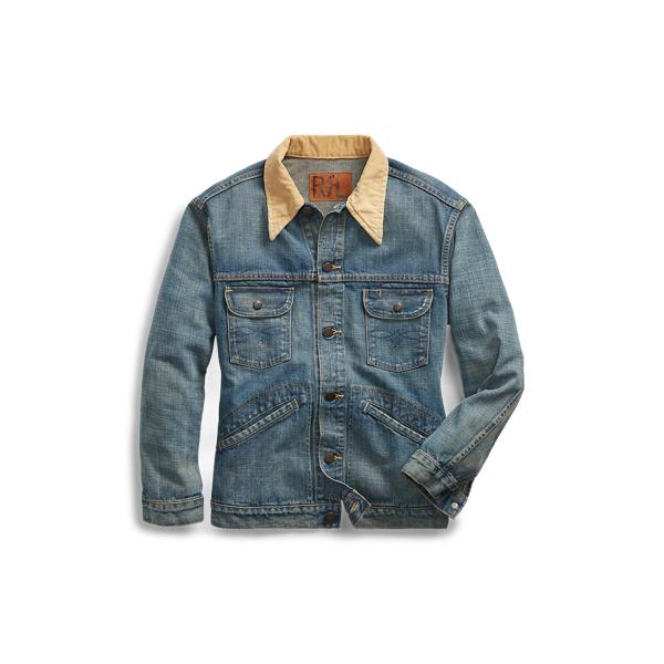 Ralph Lauren Denim Jacket Tan 1