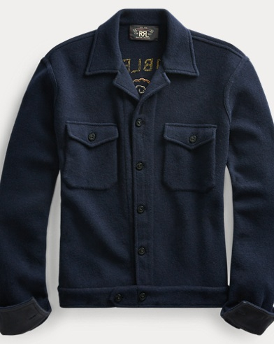 Wool-Blend Workshirt