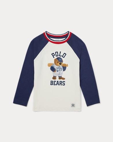 T-shirt de baseball Polo Bear