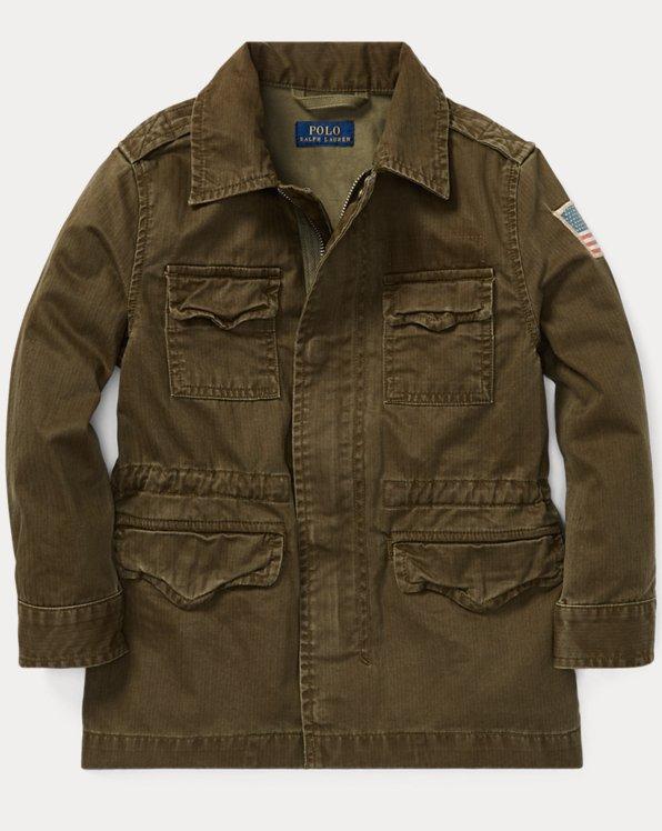 Cotton Canvas Combat Jacket