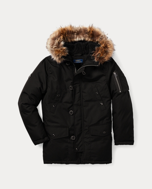 c722eeb61 Faux-Fur-Trim Down Parka