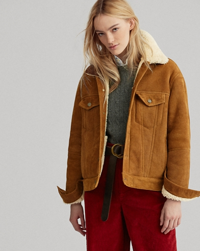 Shearling Trucker Jacket