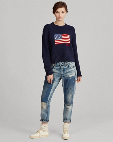 Flag Wool-Cashmere Jumper