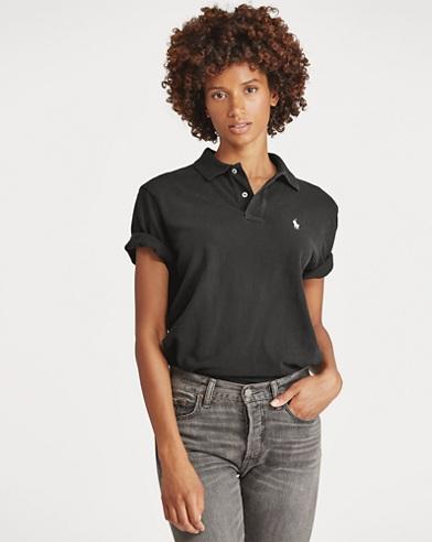 Big Fit Cotton Polo Shirt