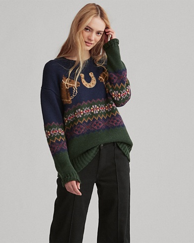 Pullover mit Fair-Isle-Muster