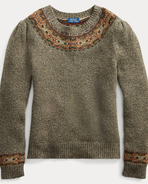 Fair Isle Wool-Blend Sweater 40ddd432c3b58
