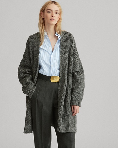 Donegal Wool-Cashmere Cardigan