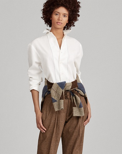 Poplin Button-Down Shirt