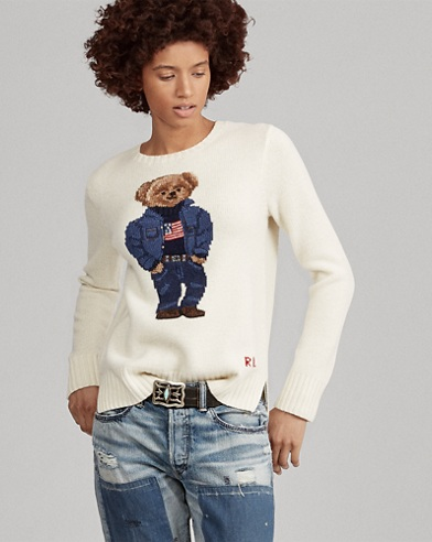 Polo Bear Wool-Blend Sweater