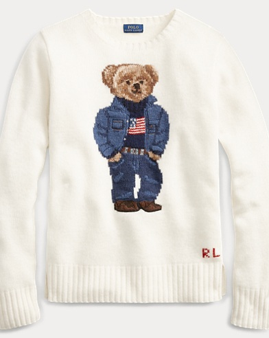 Polo Bear Wool-Blend Sweater