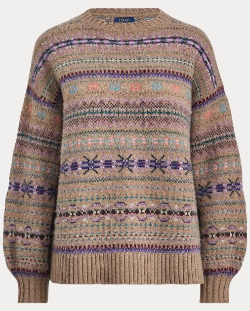 Pullover im Fair-Isle-Muster