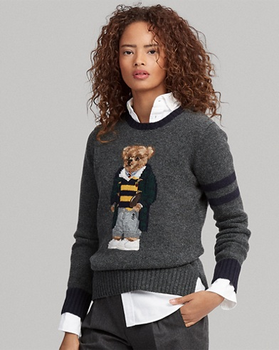 Polo Bear Wool Sweater