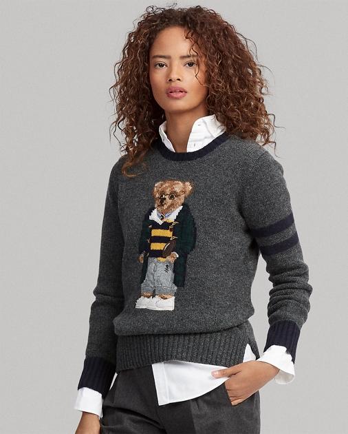 539ad190bd Polo Bear Wool Sweater