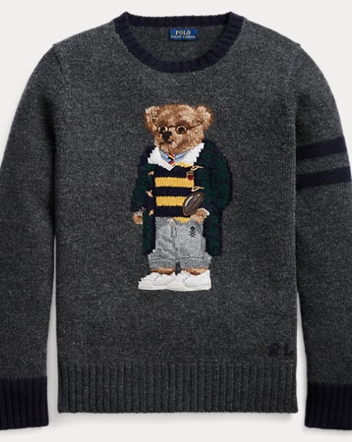 Polo Bear Wool Jumper