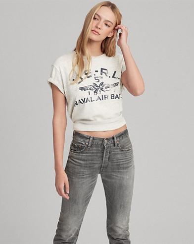 Grafik-T-Shirt aus Jersey