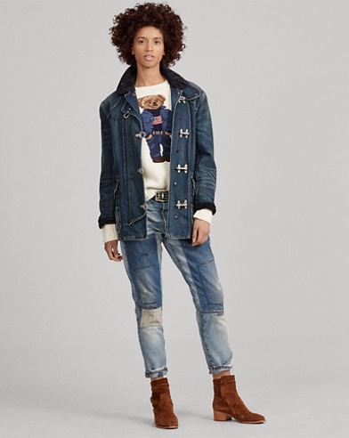 Denim Fireman's Jacket