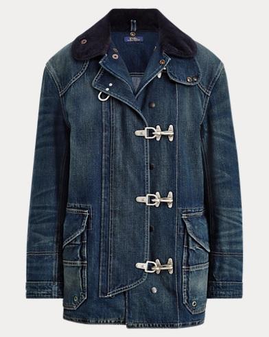 Denim Fireman's Jacket